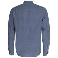 Ron Slim Fit Shirt -  blue