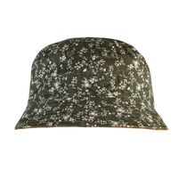 Men's Ernest Reversible Ditsy Bucket Hat -  brown-assorted