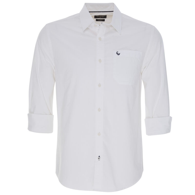 Old Khaki Men's Andy Slim Fit Shirt  -  white
