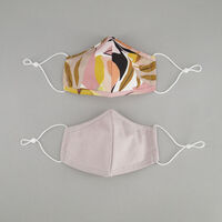 2-Pack Abstract Fabric Face Masks -  c10