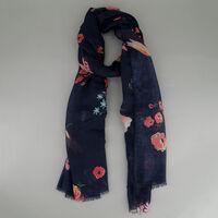 Women's Clover Floral Scarf -  c57