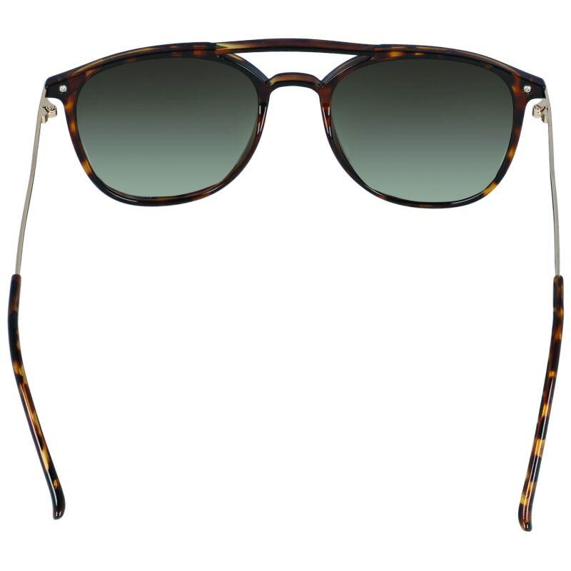 Old Khaki Ladies Double Bridge Crystal Sunglasses -  brown-gold