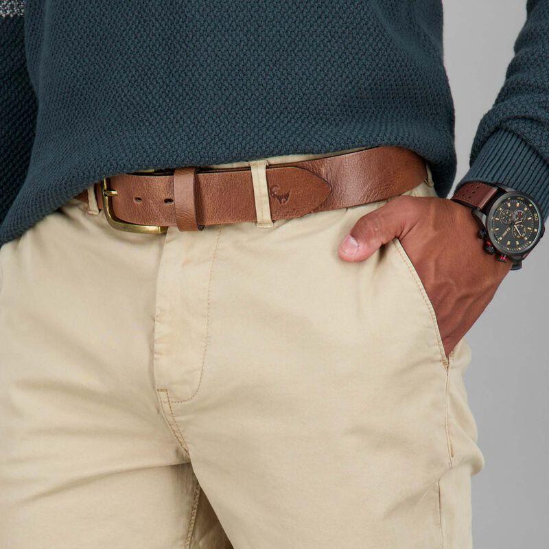 Men's Jared Narrow Straight Chinos -  khaki
