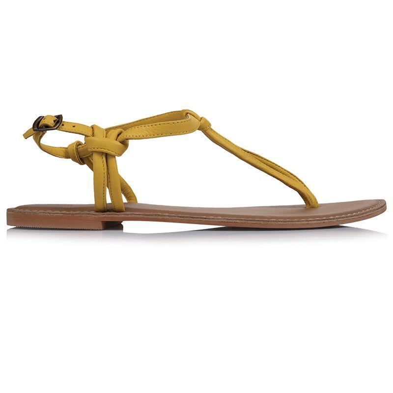 Rare Earth Raina Sandal -  yellow