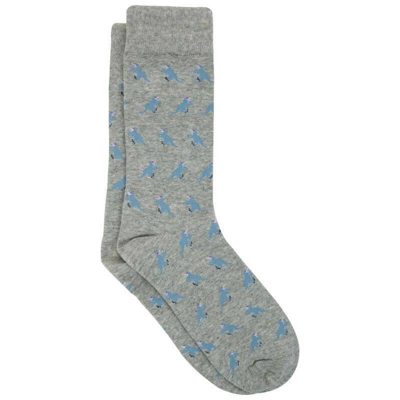 Jackson Sock -  grey-blue