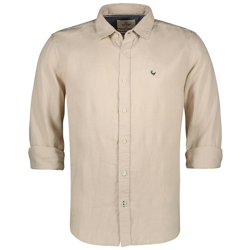 Dustin Men's Slim Fit Shirt -  stone