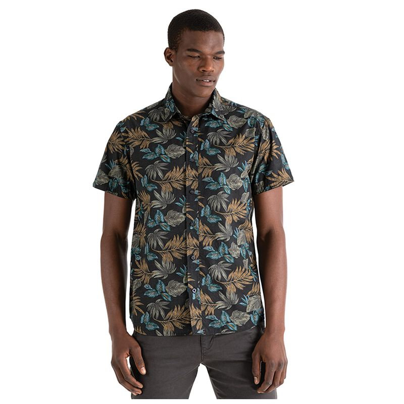 Ned Men's Slim Fit Shirt  -  teal