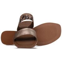 Old Khaki Loralye Sandal  -  gold-nude
