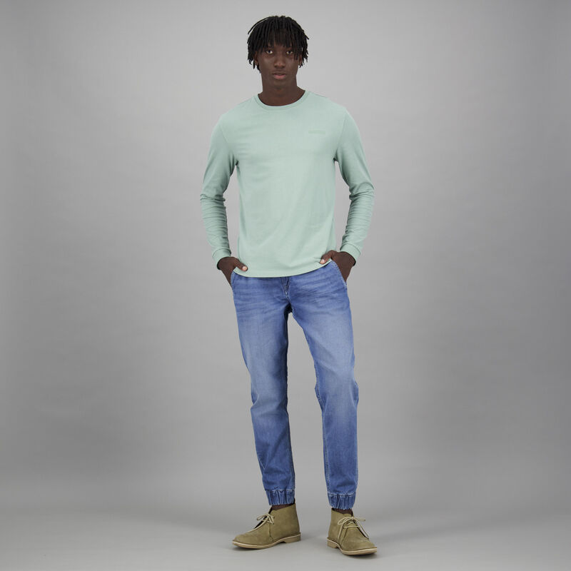 Men's Niall Long Sleeve Relaxed Fit T-Shirt -  c81
