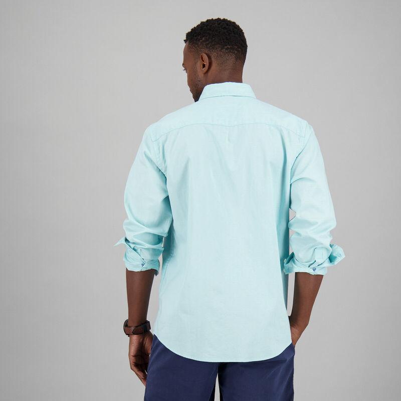 Men's Collen Slim Fit Shirt -  aqua