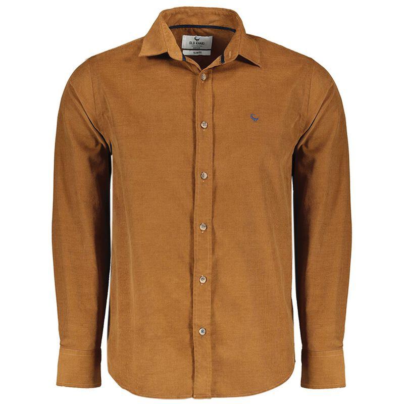 Old Khaki Men's Travis Slim Fit Shirt  -  brown