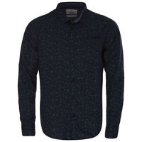 Woods Slim Fit Shirt -  navy
