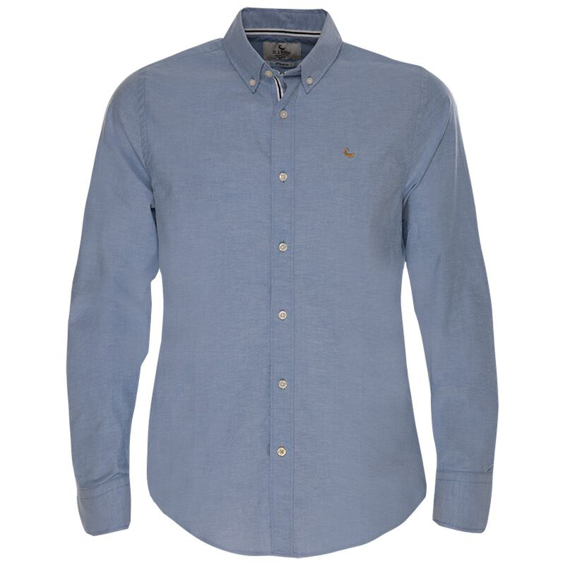 Old Khaki Men's Hunter Regular Fit Shirt  -  blue