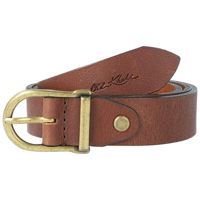 Kynlee Metal Loop Basic Leather Belt