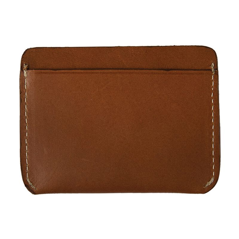 Men's Carl Leather Cardholder -  tan