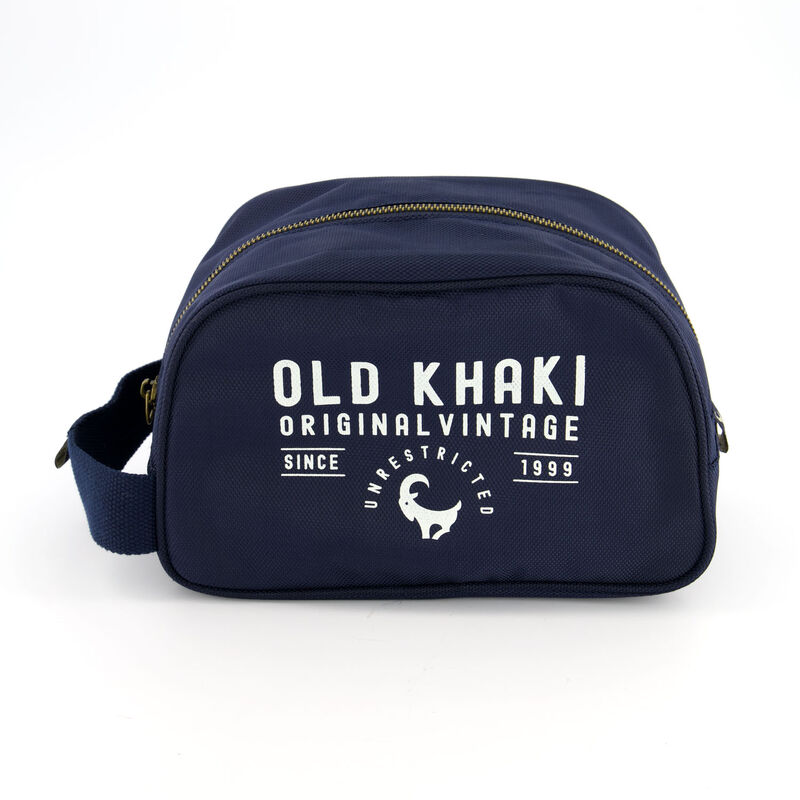 Men's Waverley Toiletry Bag -  navy-milk