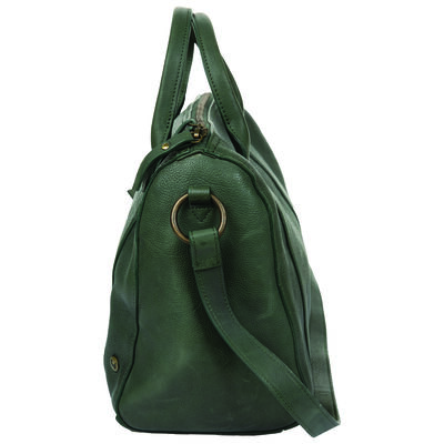 Eloisa Leather Bowler Bag