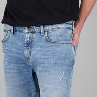 Men's Joris Denim Shorts -  lightblue