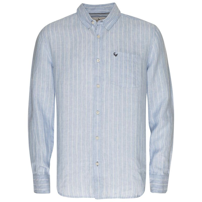 Men's Franklin Shirt -  lightblue