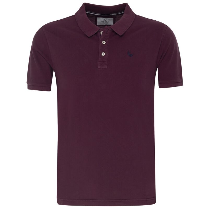 Howard 2 Men's Relaxed Fit Golfer -  burgundy