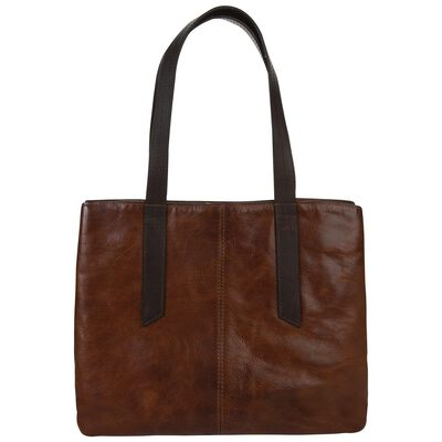 Old Khaki Women's Jessica Leather Shopper Bag