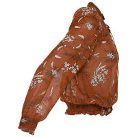 Anzelle Blouse -  brown-assorted