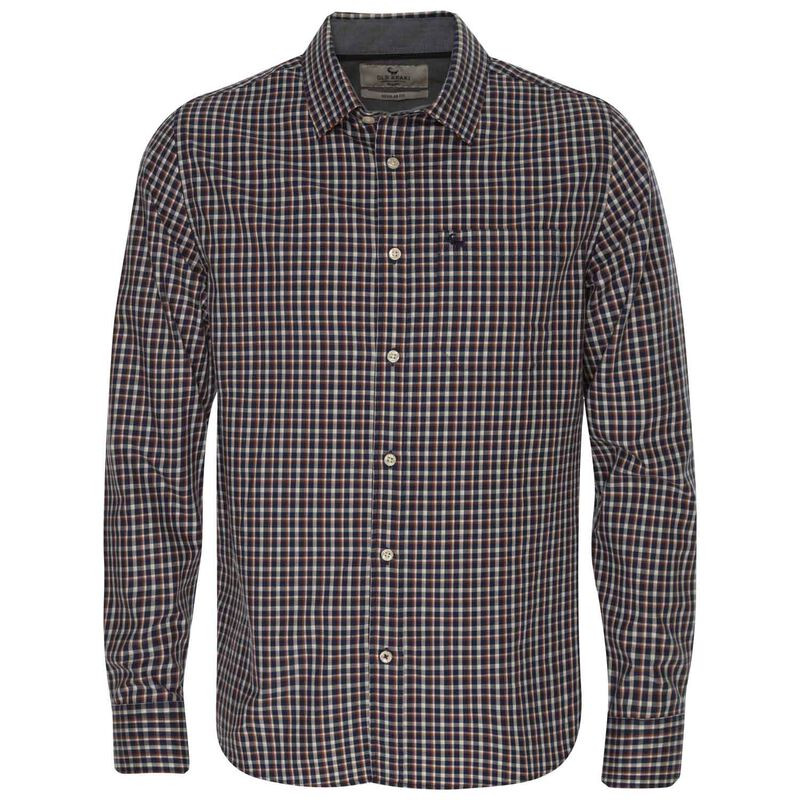 Old Khaki Men's Adler Regular Fit Shirt  -  blue