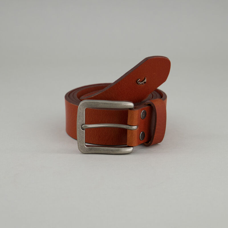 Men's Judah Branded Belt -  tan