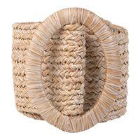 Women's Mylah Straw Belt -  oatmeal