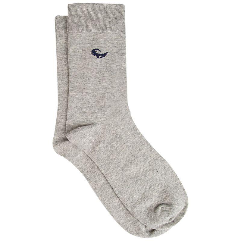 Finn Branded Sock -  grey-navy