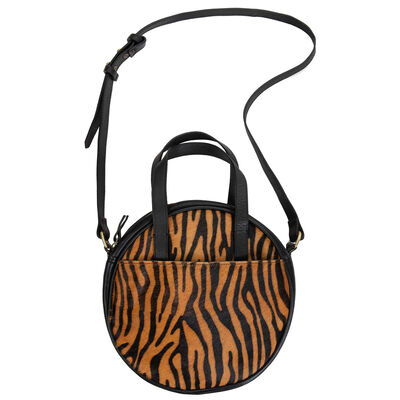 Poppy Leather Round Bag