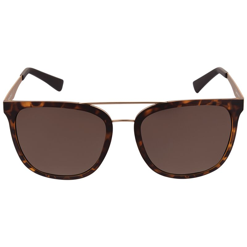 Old Khaki Men's Topbar Wayfarer Sunglasses -  brown-gold