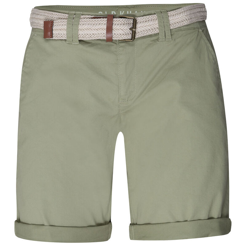 Callia Belted Shorts -  lightgreen