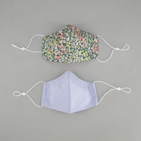 2-Pack Multicolour Fabric Face Masks -  c69