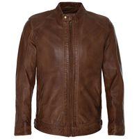 Kenzo Men's Leather Jacket  -  tan