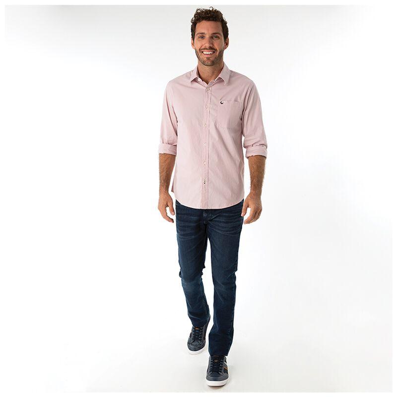Andy Men's Slim Fit Shirt  -  pink