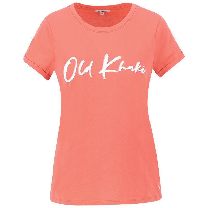Lebo T-Shirt -  coral