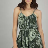 Women's Dana Dress -  green-assorted