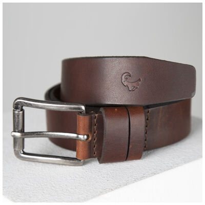 Johan Double Loop Leather Belt