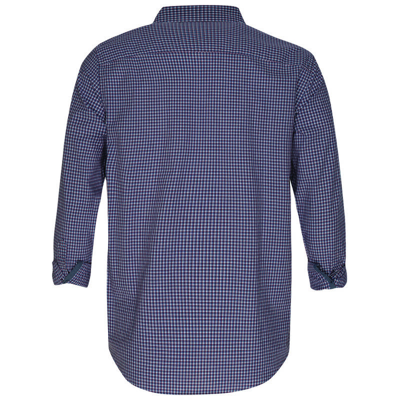 Kennedy Men's Regular Fit Shirt -  burgundy