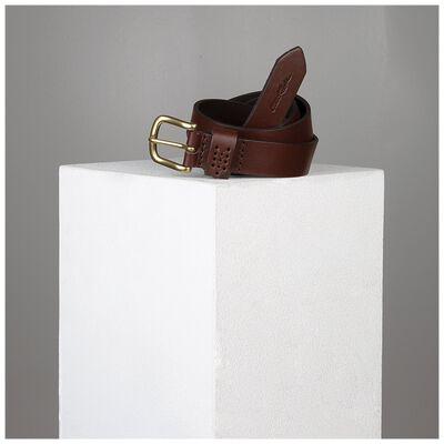 Evol Loop Stitch Detail Leather Belt