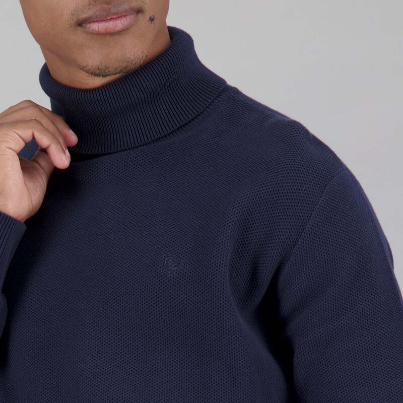 Men's Benji Polo Neck Pullover -  dc5700