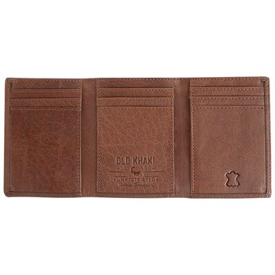 Mason Trifold Leather Wallet
