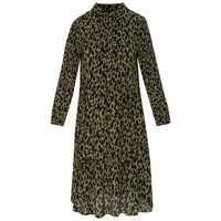 Juliette Women's Dress -  olive-black
