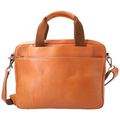 Steve Men's Leather Laptop Bag
