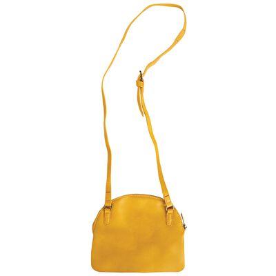 Ramona Plaited Vegan Leather Cross Body Bag