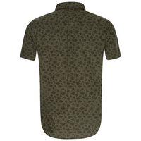 Chris Slim Fit Shirt -  olive