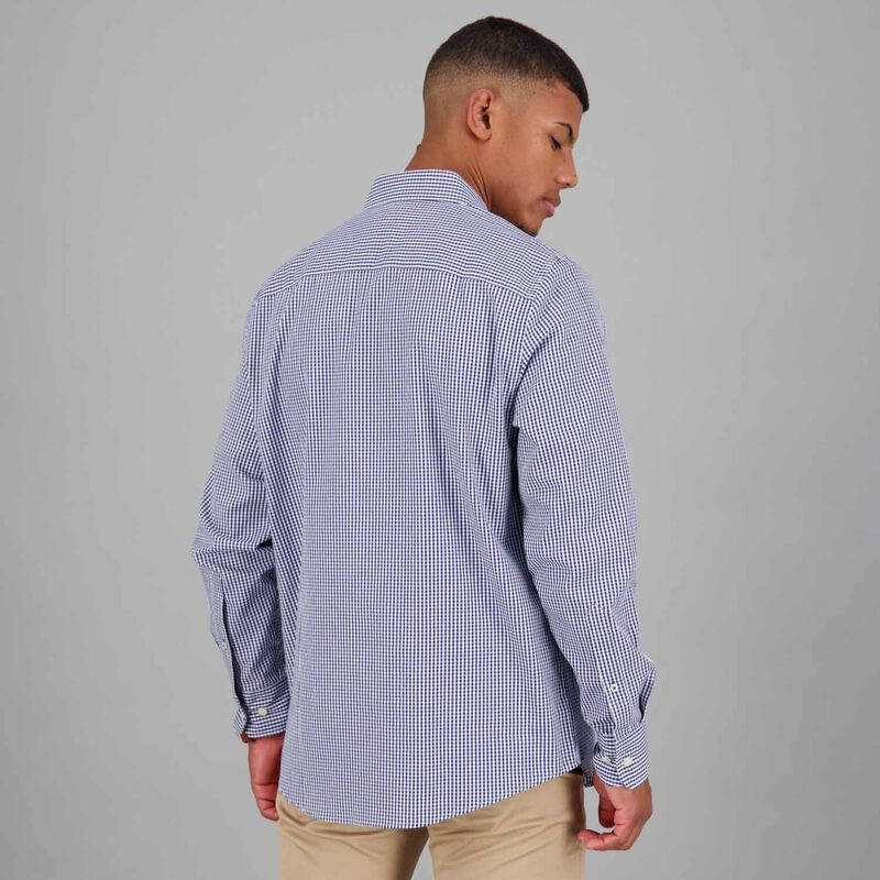 Men's Basil Regular Fit Shirt -  navy