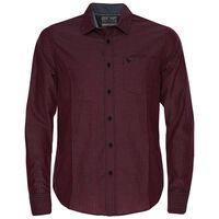 Potter Men's Slim Fit Shirt -  burgundy