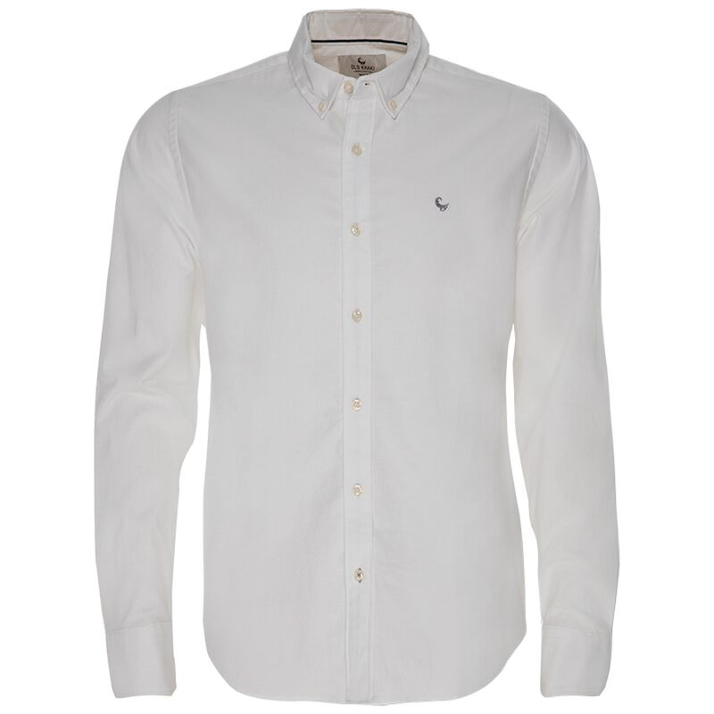 Hunter Slim Fit Shirt -  white